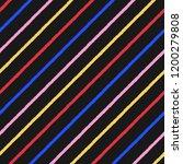 colorful diagonal brush  chalk... | Shutterstock .eps vector #1200279808