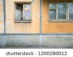 cat on the windowsill | Shutterstock . vector #1200280012