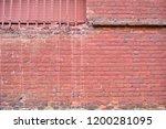 brick red wall | Shutterstock . vector #1200281095