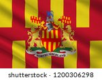 flag of northumberland is a... | Shutterstock . vector #1200306298