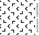 abstract seamless geometric...   Shutterstock . vector #1200310822