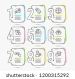 infographic template with... | Shutterstock .eps vector #1200315292