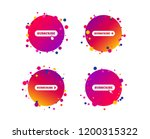 subscribe icons. membership... | Shutterstock .eps vector #1200315322