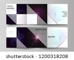 vector layout of two square...   Shutterstock .eps vector #1200318208