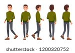 vector illustration of walking... | Shutterstock .eps vector #1200320752