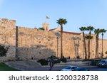 jerusalem  israel  28 ... | Shutterstock . vector #1200328738