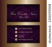 modern creative purple...   Shutterstock .eps vector #1200359008