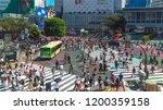 tokyo  japan   august 27   2018 ...   Shutterstock . vector #1200359158