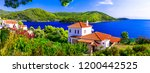 beautiful islands of greece  ... | Shutterstock . vector #1200442525