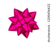 pink decorative gift  bow... | Shutterstock .eps vector #1200456622