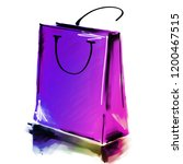 art digital acrylic and... | Shutterstock . vector #1200467515