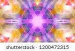 geometric design  mosaic of a... | Shutterstock .eps vector #1200472315