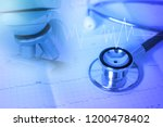 health examination and  medical ... | Shutterstock . vector #1200478402
