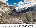 Tunnel View In Yosemite After ...