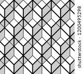 seamless geometric patter  ... | Shutterstock .eps vector #1200495298