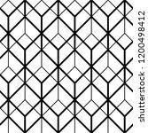seamless geometric patter  ... | Shutterstock .eps vector #1200498412