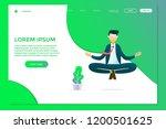 illustration of business people ... | Shutterstock .eps vector #1200501625