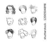 character design of people... | Shutterstock .eps vector #1200504898