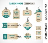 vector stickers  price tag ...   Shutterstock .eps vector #1200506755