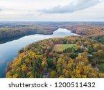 aerial of loch raven reservoir... | Shutterstock . vector #1200511432