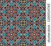 seamless damask pattern.... | Shutterstock .eps vector #1200514765