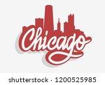 Chicago Illinois Usa Cityscape...