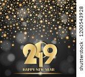 abstract shining falling stars... | Shutterstock .eps vector #1200543928