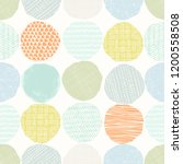 abstract seamless pattern of... | Shutterstock .eps vector #1200558508