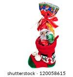 little christmas stocking... | Shutterstock . vector #120058615