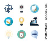 thinking icon set. vector set... | Shutterstock .eps vector #1200589438