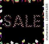 vector. sale promotion banner ...   Shutterstock .eps vector #1200591205