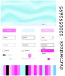 light pink  blue vector design...