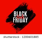 black friday sale banner... | Shutterstock .eps vector #1200601885
