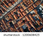 majestic sunny cityscape of old ... | Shutterstock . vector #1200608425
