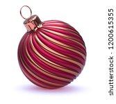 christmas ball decoration... | Shutterstock . vector #1200615355