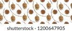 botanical watercolor. forest...   Shutterstock . vector #1200647905