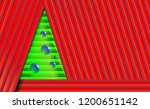 red christmas background with... | Shutterstock .eps vector #1200651142