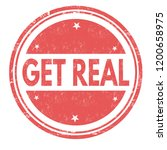 get real sign or stamp on white ...   Shutterstock .eps vector #1200658975