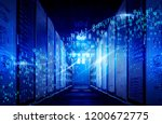 visualization of big data... | Shutterstock . vector #1200672775