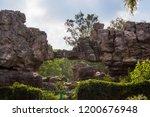 mountains roads daytime forest... | Shutterstock . vector #1200676948