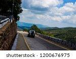 mountains roads daytime forest... | Shutterstock . vector #1200676975