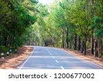 mountains roads daytime forest... | Shutterstock . vector #1200677002