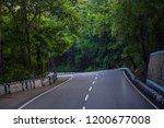 mountains roads daytime forest... | Shutterstock . vector #1200677008