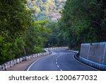 mountains roads daytime forest... | Shutterstock . vector #1200677032
