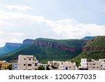mountains roads daytime forest... | Shutterstock . vector #1200677035