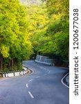 mountains roads daytime forest... | Shutterstock . vector #1200677038