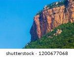 mountains roads daytime forest... | Shutterstock . vector #1200677068