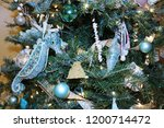 Christmas Holiday Tree Close U...