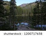 a view of nymph lake through... | Shutterstock . vector #1200717658