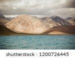pangong lake in ladakh  north... | Shutterstock . vector #1200726445